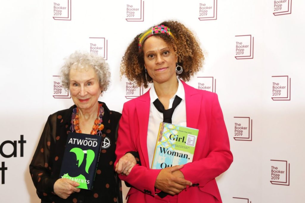 Margaret Atwood and Bernadine Evaristo joint winners of the 2019 booker prize