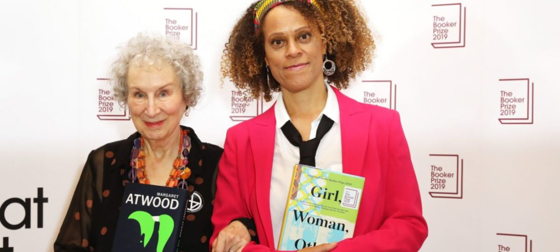 Margaret Atwood bernadine Evaristo booker prize