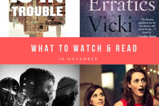 Watch TV series and books to read